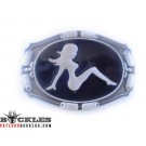 MudFlap Trucker Girl Belt Buckles