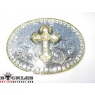 Western Cross Belt Buckles