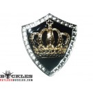 Rhinestone Crown Belt Buckles