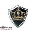 Rhinestone Crown Belt Buckles