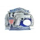 Wholesale Automatic Gun Belt Buckles