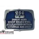 25 Cents Insert Coin Belt Buckles