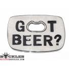 Got Beer Belt Buckles