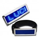 Wholesale Blue LED Belt Buckles