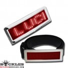 Wholesale Red LED Belt Buckles
