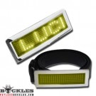 Wholesale Yellow LED Belt Buckles
