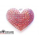 Wholesale Rhinestone Heart Belt Buckles