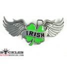 Irish Clover Leaf Belt Buckles