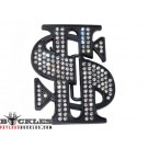 Rhinestone Dollar Belt Buckles