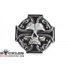 Wholesale Celtic Cross with Skull Belt Buckles