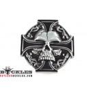 Wholesale Celtic Cross with Skull Belt Buckles
