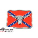 Wholesale Confederate Rebel Belt Buckles with Longhorn