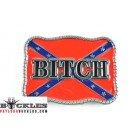 Wholesale Bitch Rebel Confederate Belt Buckles