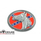 Wholesale Horse Rebel Confederate Belt Buckles