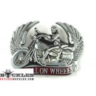 Hell On Wheel Motorcycle Biker Belt Buckle