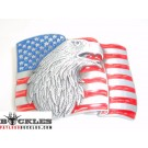 American USA Flag Belt Buckle