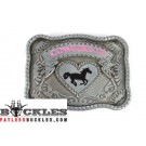 Cowgirl Belt Buckle
