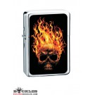 Wholesale Skull on Fire Cigarette Lighters