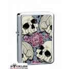 Wholesale Skull Rose Cigarette Lighters