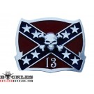 Rebel Confederate Flag Belt Buckle