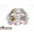 Bad To The Bone Biker Motorcycle Belt Buckle