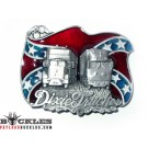 Dixie Trucker Belt Buckle