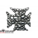 SKull and Cross Belt Buckle