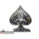 3D Spade Card Belt Buckle
