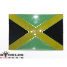 Jamaican Jamaica Flag Belt Buckle