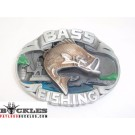 Bass Fish Fishing Belt Buckle