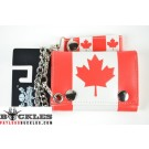 Wholesale Canada Flag Chain Wallets