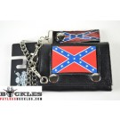 Wholesale Confederate Flag Chain Wallets