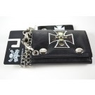 Wholesale Cross Leather Chain Wallets