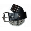 Wholesale Studded Leather Belt Silver Studs - Stud01