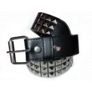 Wholesale Studded Leather Belt Silver Studs - Stud01