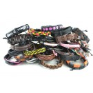 #6 Pack of 25 Leather Bracelets
