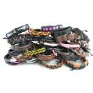 #6 Pack of 25 Leather Bracelets