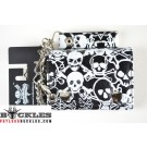 Wholesale Cross bone Skull Chain Wallets