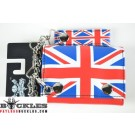 Wholesale UK British Flag Chain Wallets