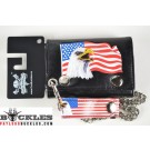 Wholesale Eagle USA Chain Wallets